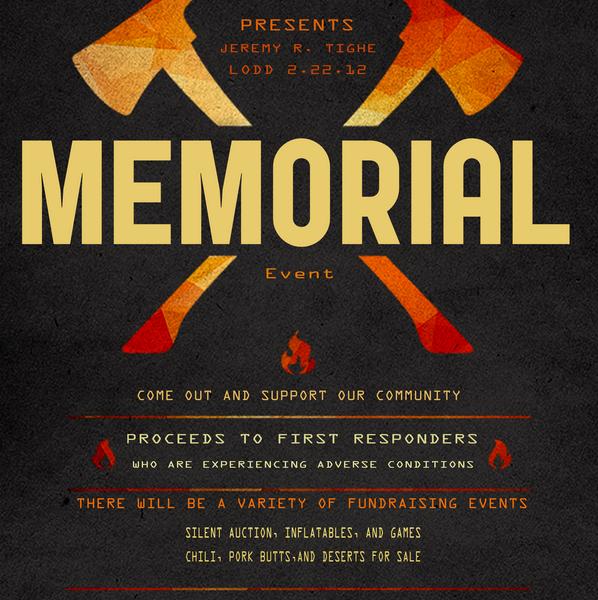 Jeremy Tighe Memorial Event